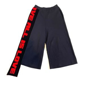 STELLA MCCARTNEY   'All Is Love' Cropped Pants